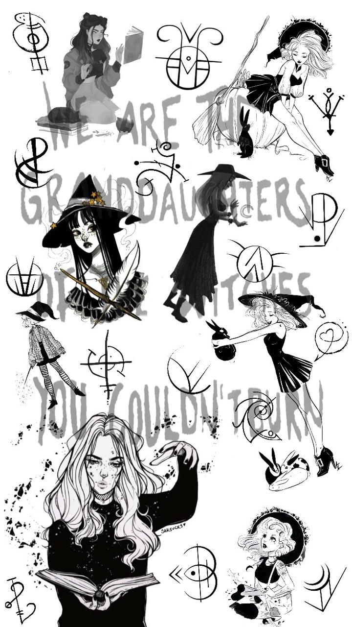 witchy wallpaper Tumblr