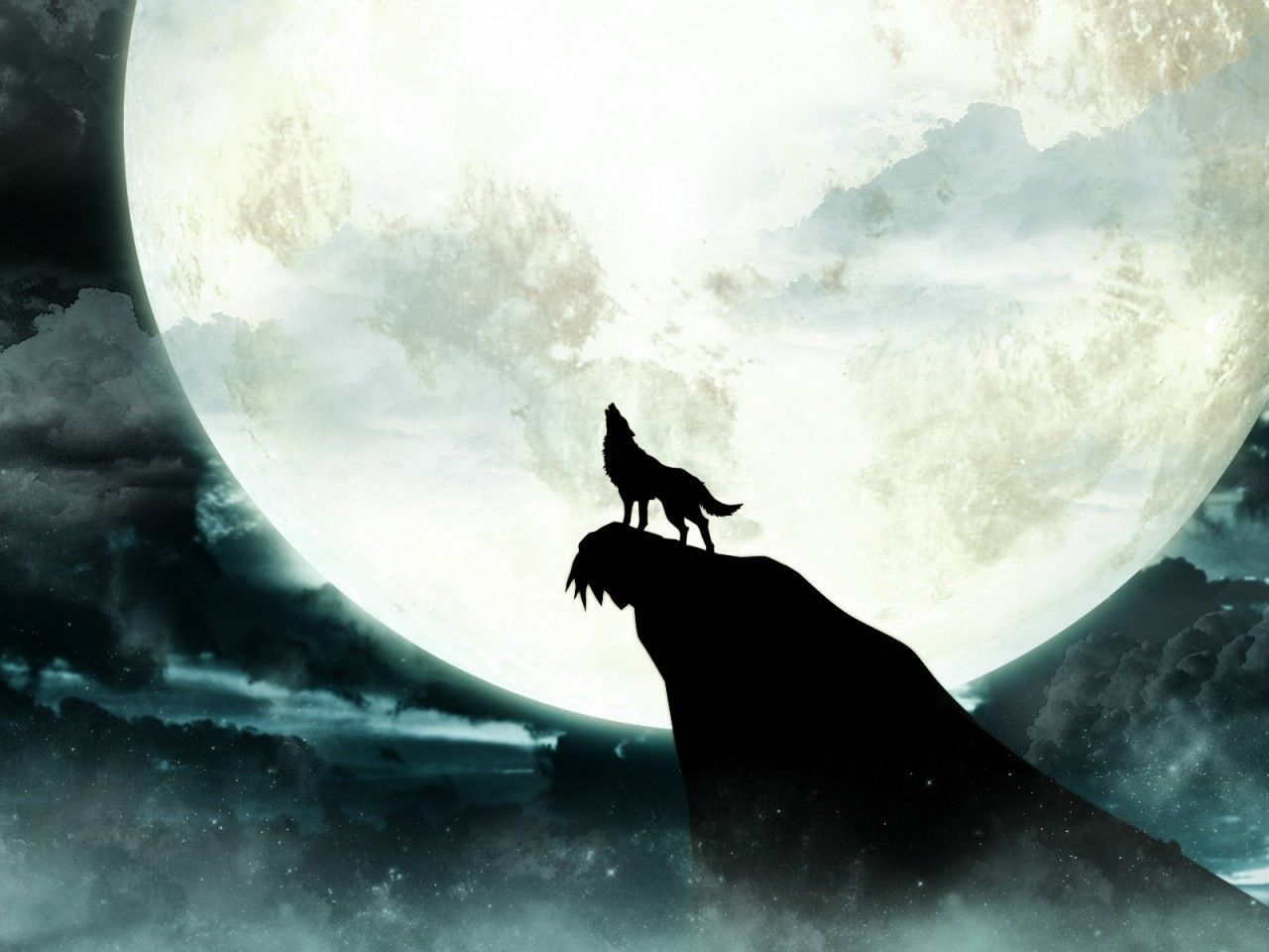 Howling Wolf Wallpapers Mobile Watercolor wolf, Wolf