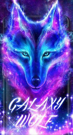 Galaxy Wolf For Keyboard Theme in 2019 Galaxy wolf, Wolf