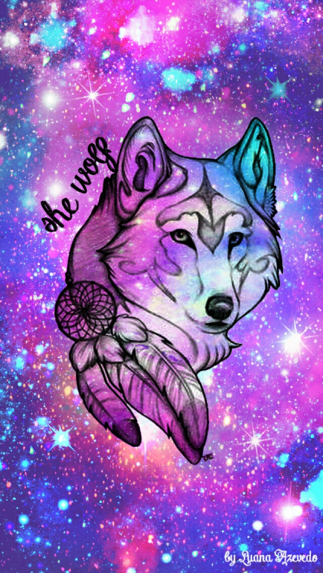 Galaxy Wolf Wallpaper 26+ images on Genchi.info