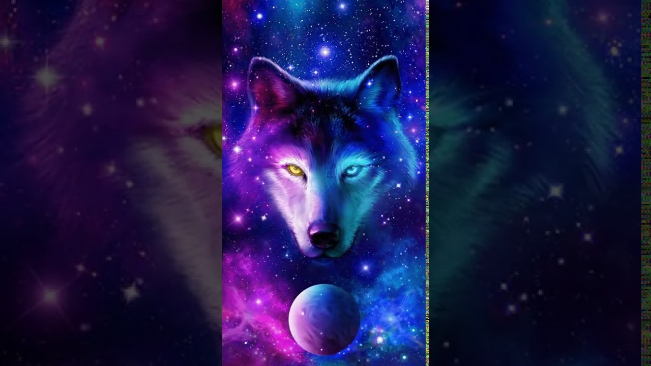 Night Sky Wolf Live Wallpaper for android 111 Wallpapers