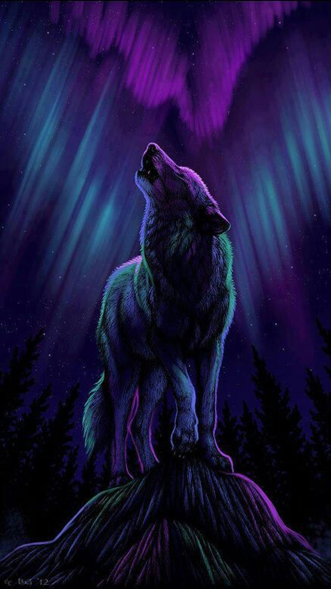 Wolf Art Wallpaper 79+ images
