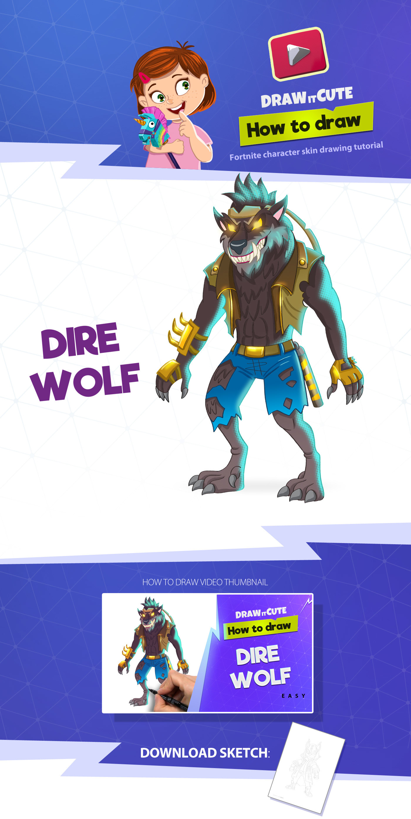 Wolf Skin Fortnite posted by John Tremblay