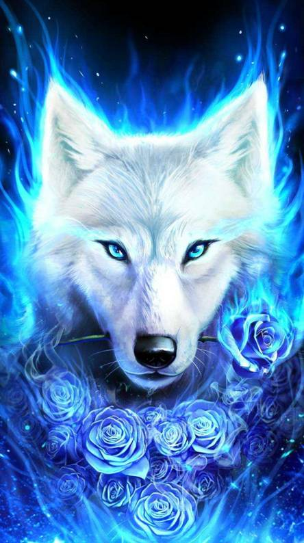 Ice wolf Wallpapers Free by ZEDGE tm