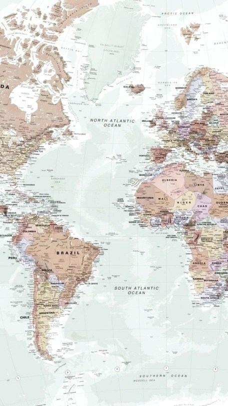 World Map Hd Picture Posted By Ethan Thompson