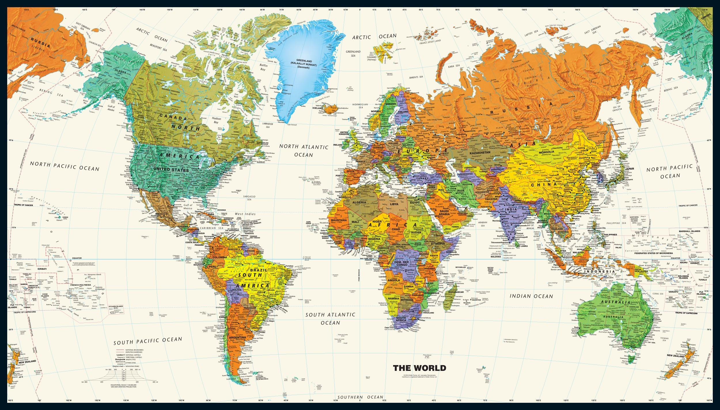 World Map High Res Posted By Sarah Anderson