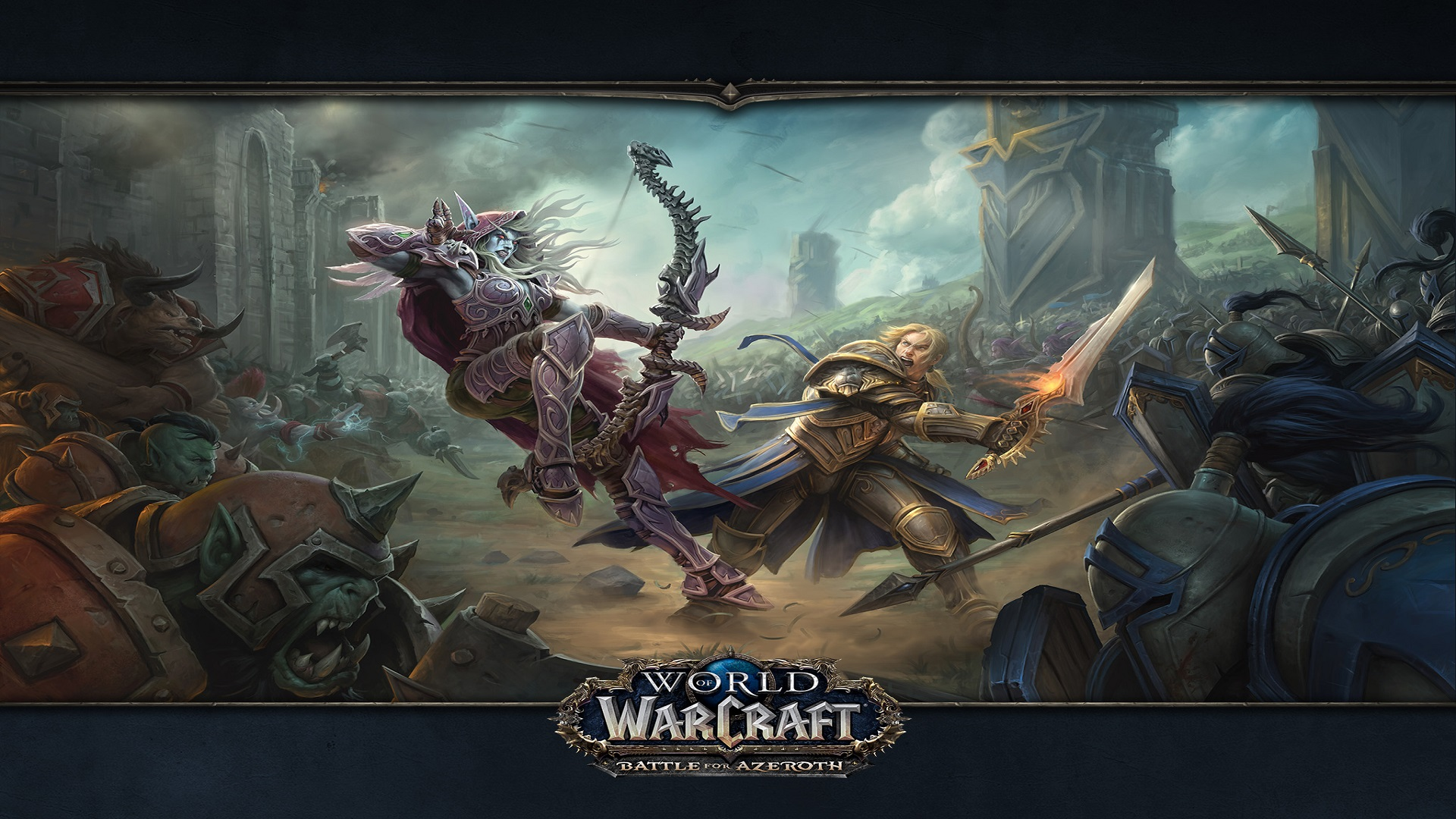World Of Warcraft 1920x1080 Wallpaper Posted By John Tremblay