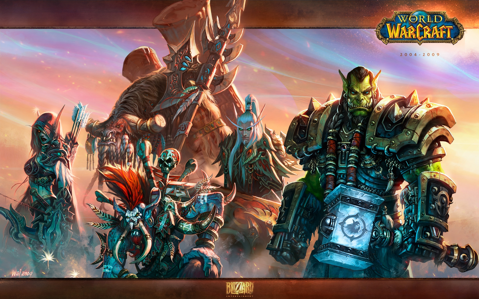 World Of Warcraft Alliance Wallpapers Posted By Samantha Simpson