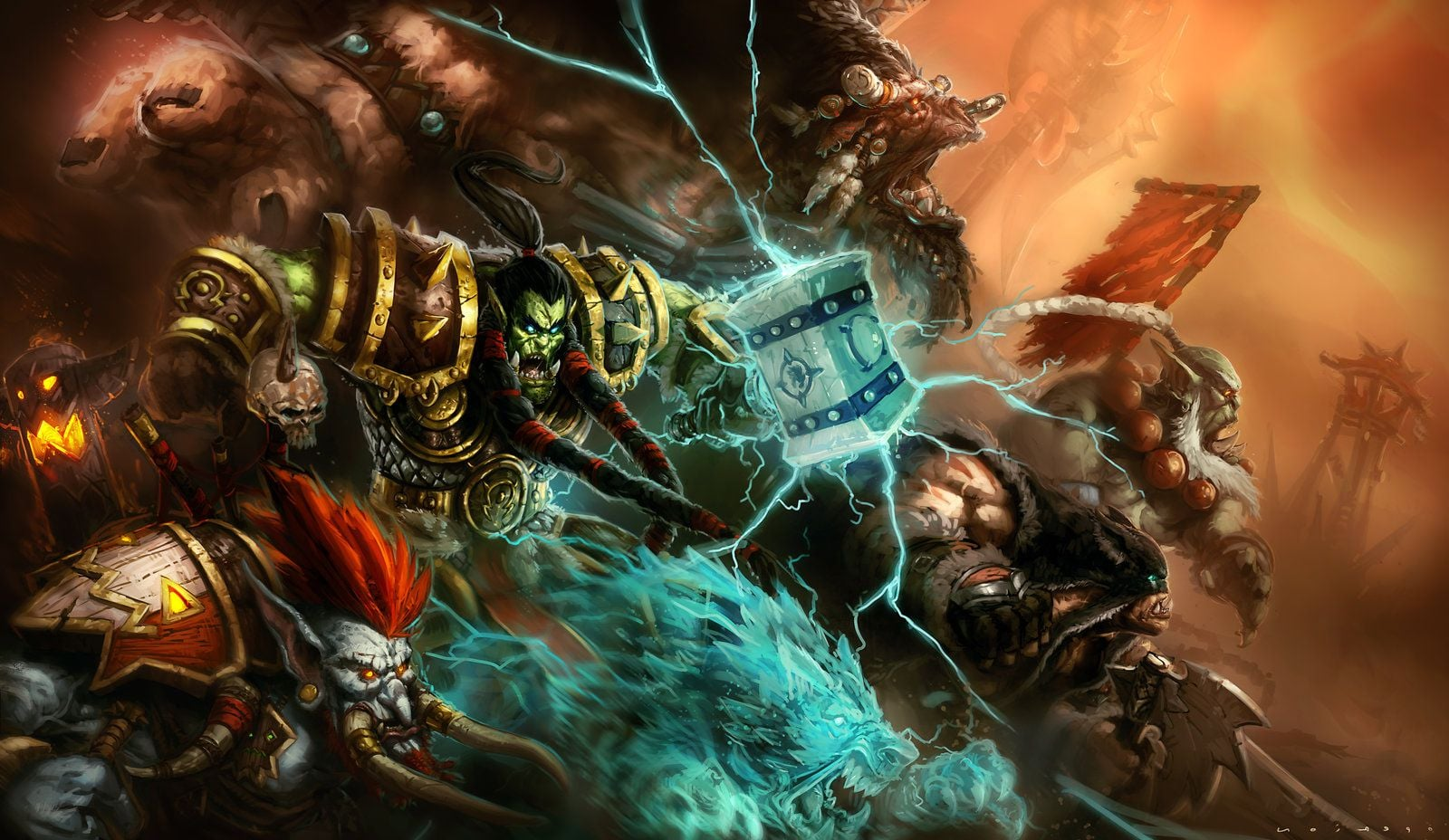 World Of Warcraft Backgrounds Horde Posted By John Anderson