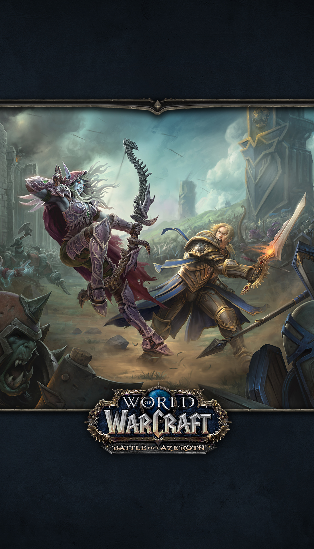 World Of Warcraft Iphone Wallpaper Posted By Ryan Sellers