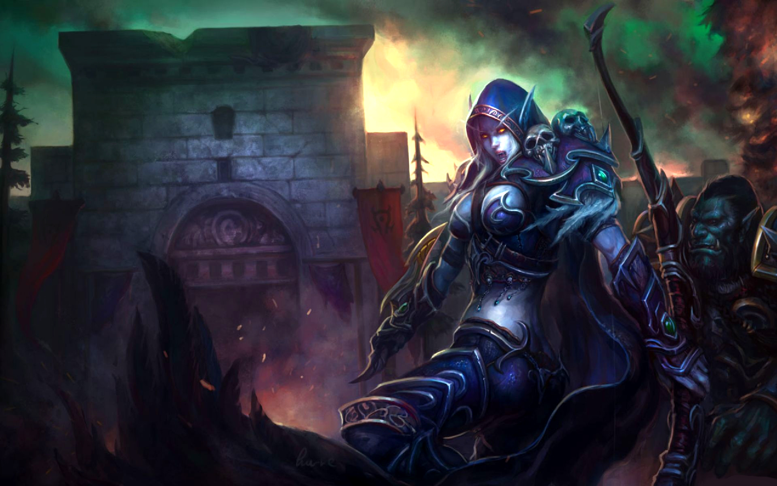World Of Warcraft Night Elf Wallpaper Posted By Sarah Peltier