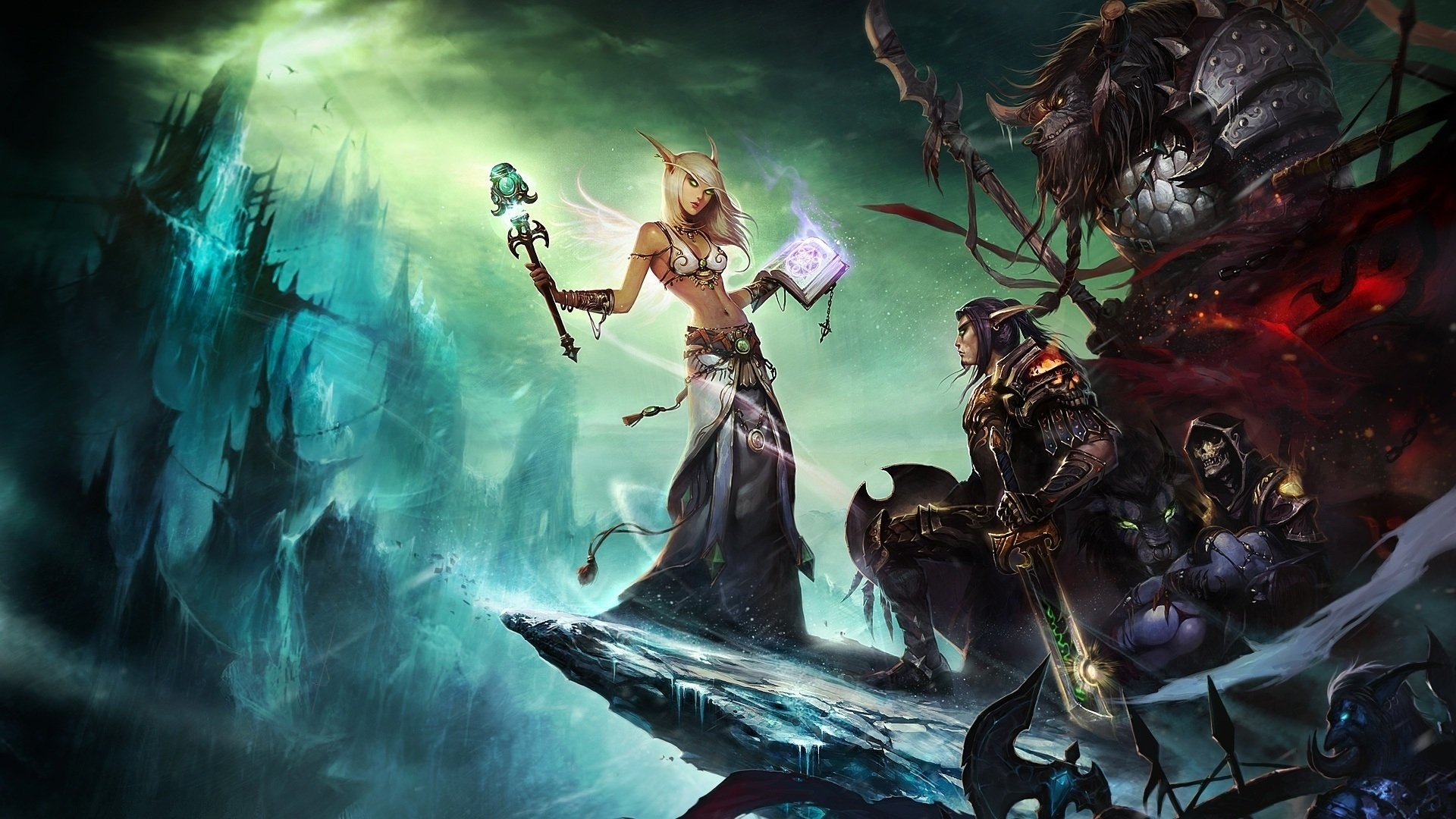 World Of Warcraft Wallpaper 1920x1080 Hd Posted By Zoey Anderson
