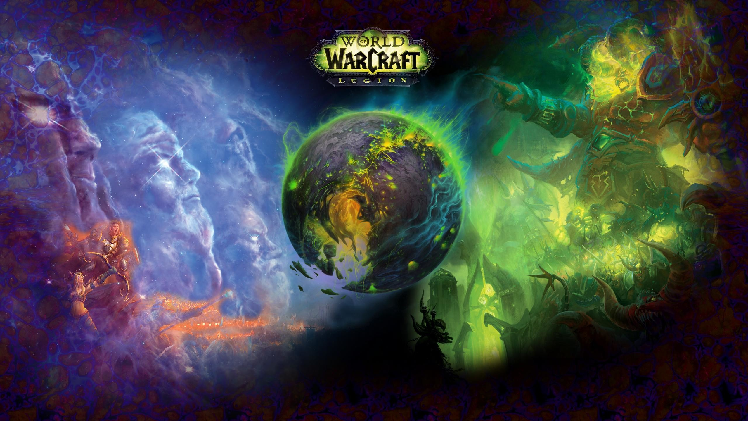 World Of Warcraft Wallpaper 2560x1440 Posted By Michelle Johnson