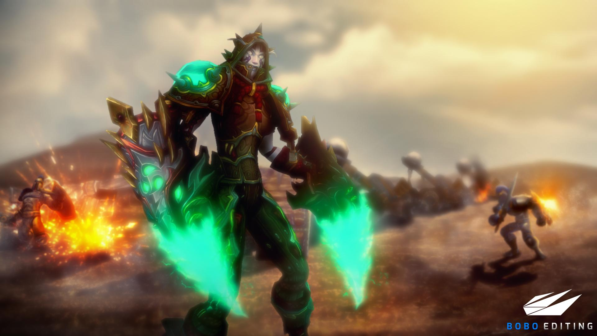 World Of Warcraft Wallpaper Battle For Azeroth Posted By