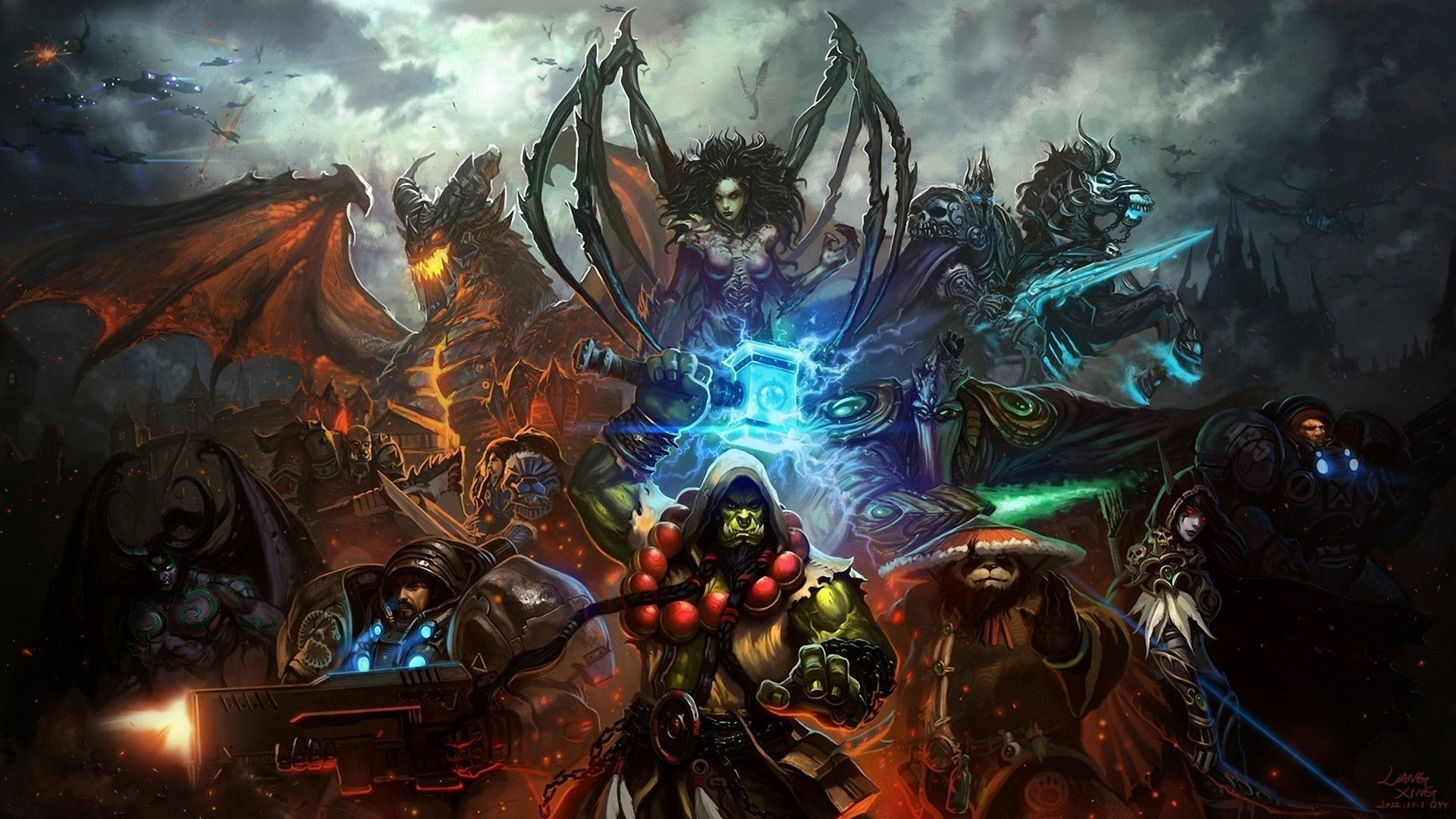 World Of Warcraft Wallpaper Druid
