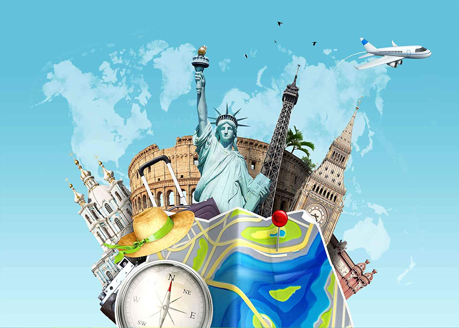 World Travel Wallpaper Posted By Zoey Thompson