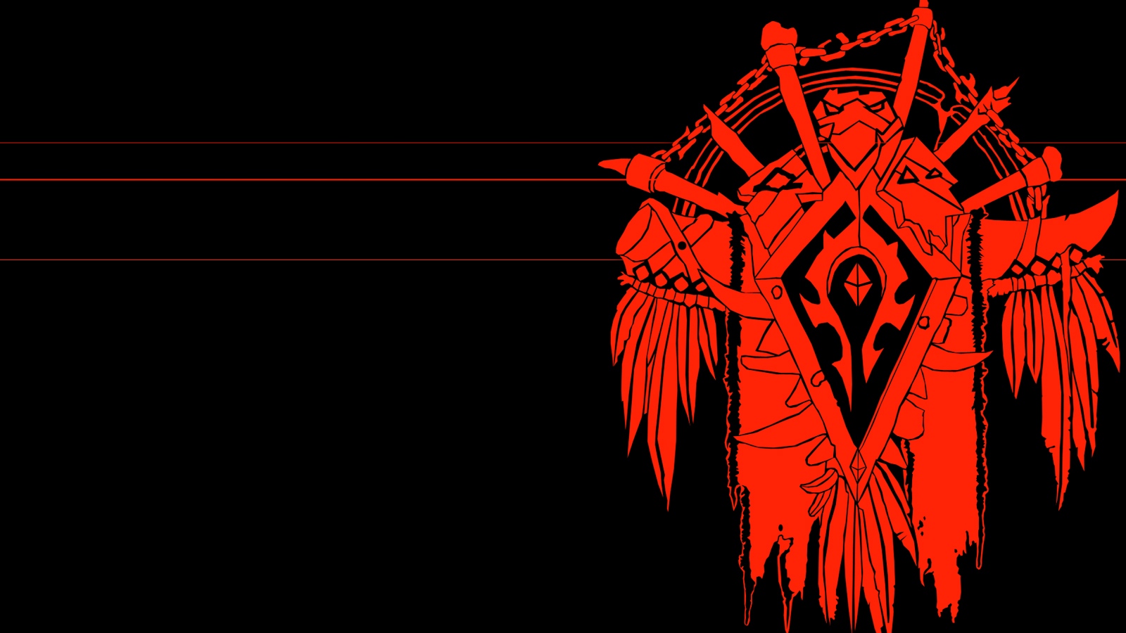 Wow Horde Symbol Wallpaper Posted By Ryan Tremblay