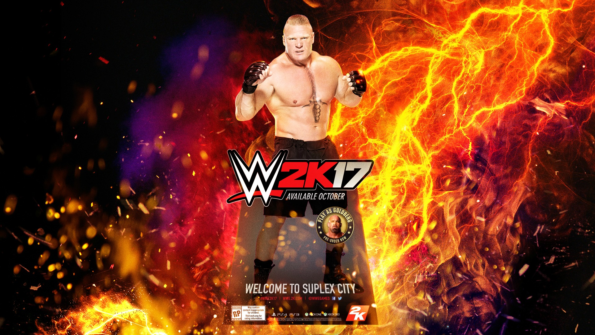 Wwe 2k17 Wallpapers Posted By Zoey Walker