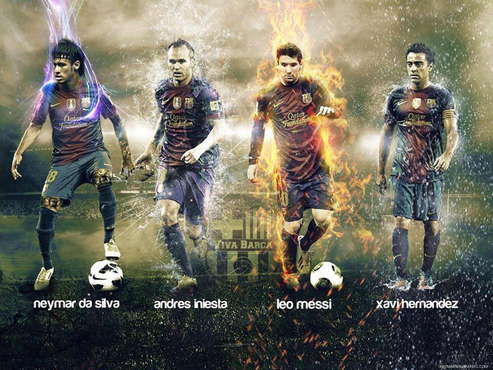 Xavi Iniesta Wallpaper Posted By John Thompson