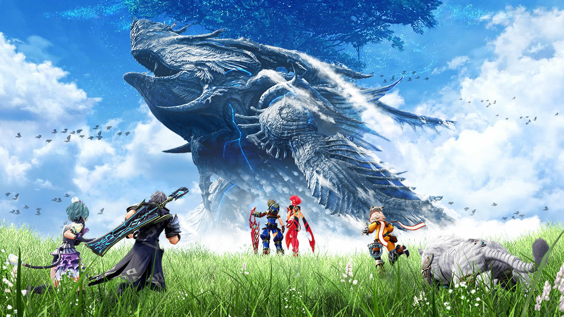 Xenoblade Chronicles 2 Hd Wallpaper Posted By Ethan Sellers