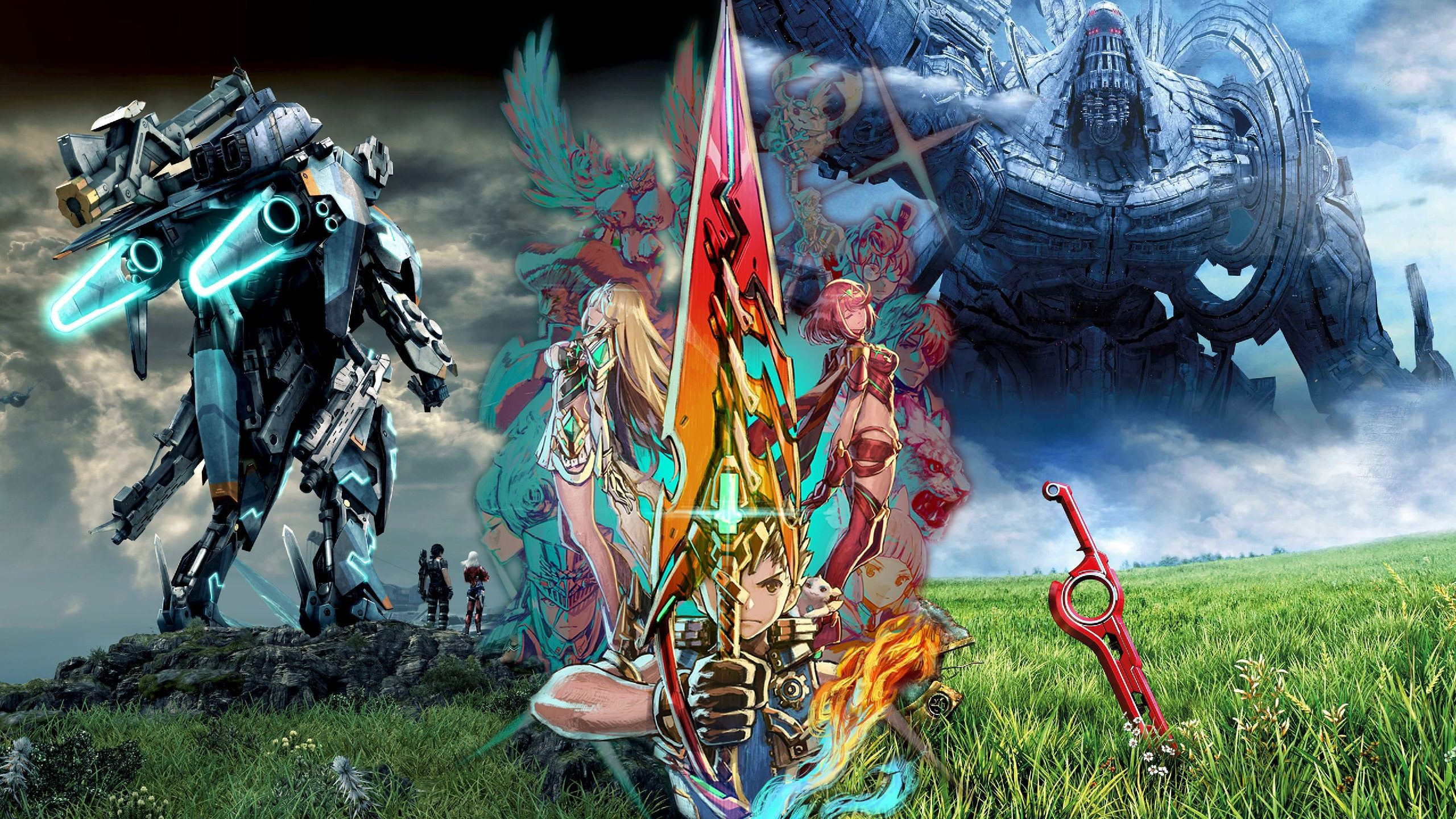 Xenoblade Chronicles Wallpaper Posted By John Tremblay
