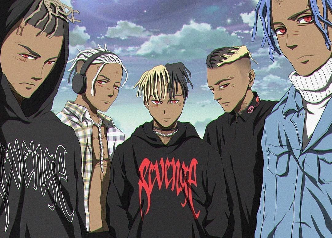 Xxxtentacion Anime Wallpapers Posted By Sarah Thompson
