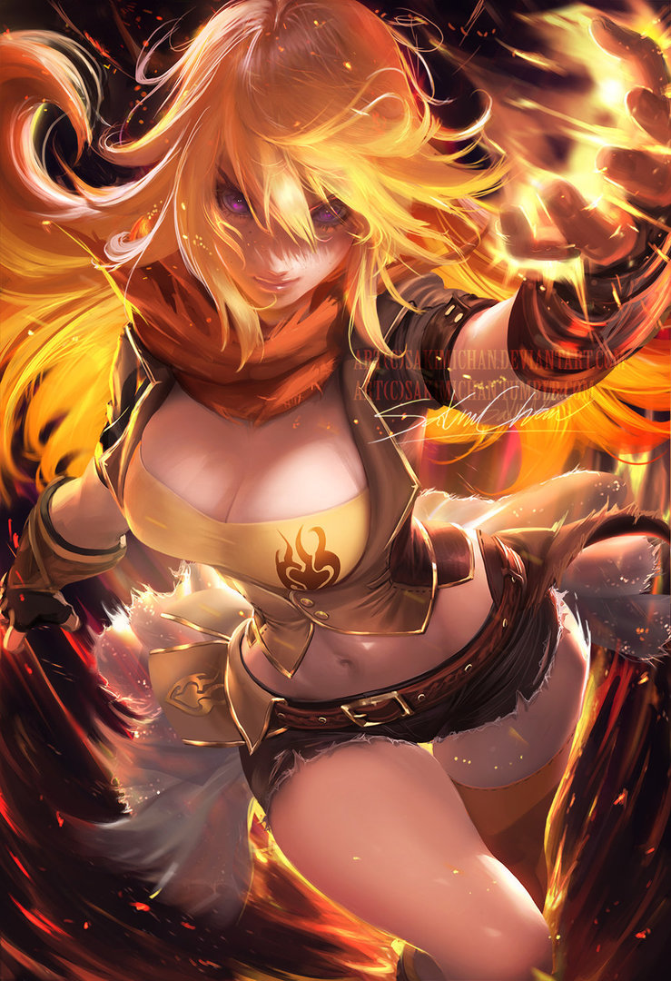 Yang Xiao Long Background Posted By John Thompson