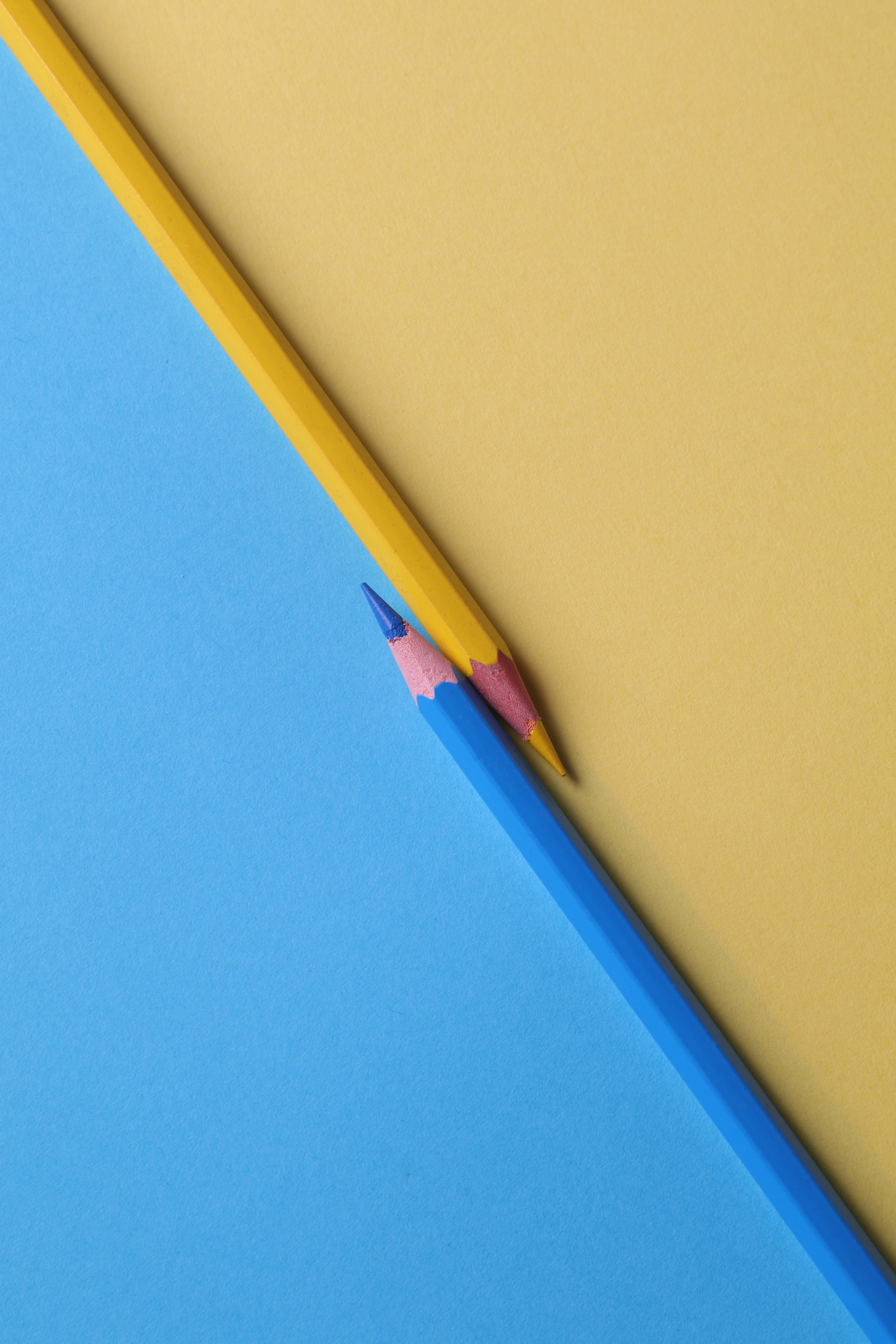 Yellow And Blue Wallpaper Posted By Samantha Simpson