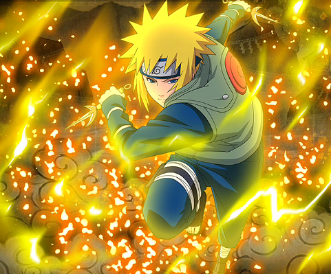 Yellow Flash Minato Wallpapers Posted By Ethan Peltier