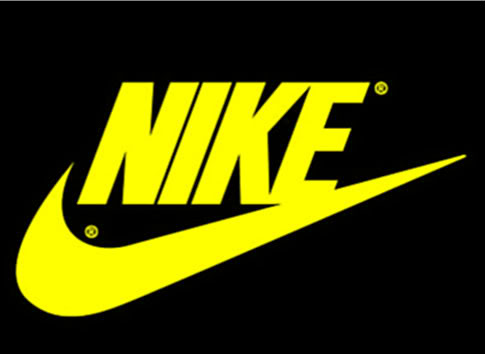 Yellow Nike Logo posted by Christopher