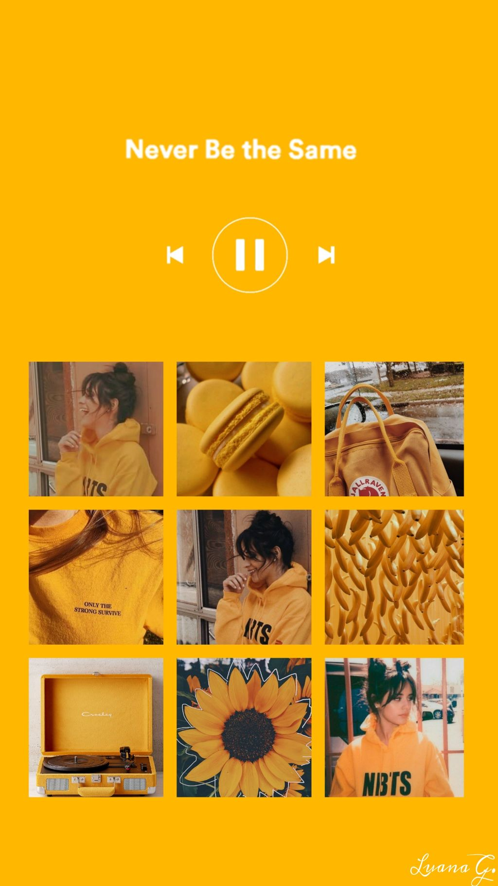 wallpaper papeldeparede tumblr yellow amarelo camilacab