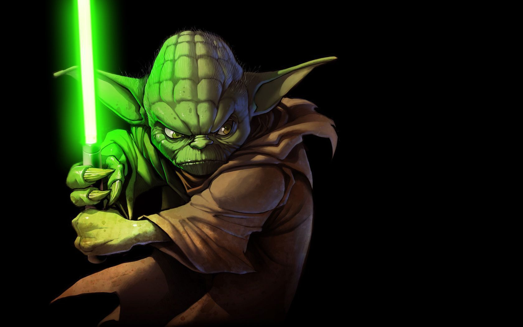 star wars wallpaper hd yoda HD WALLPAPER WIDE