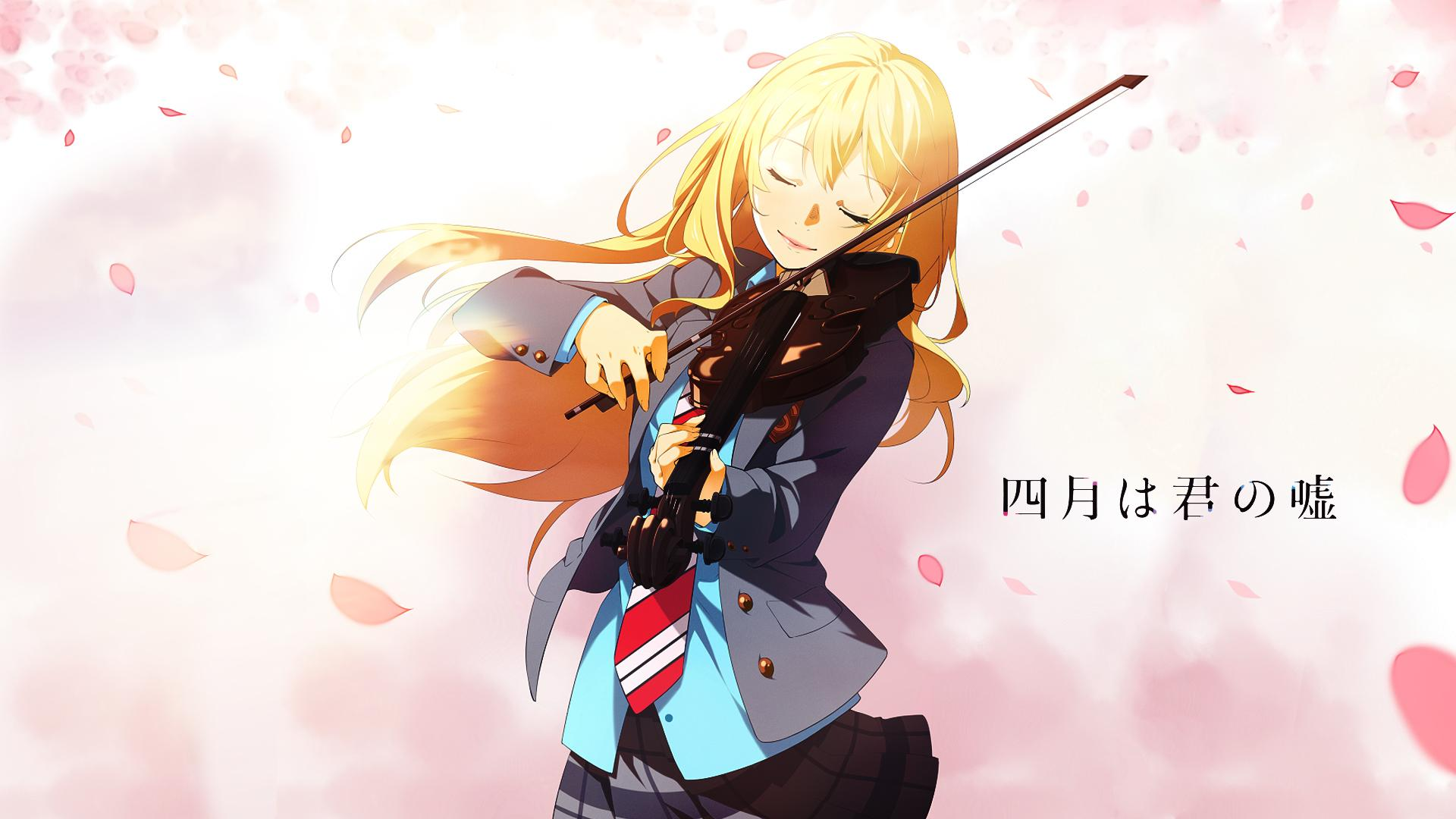Your Lie In April Hd Wallpaper Posted By Sarah Cunningham