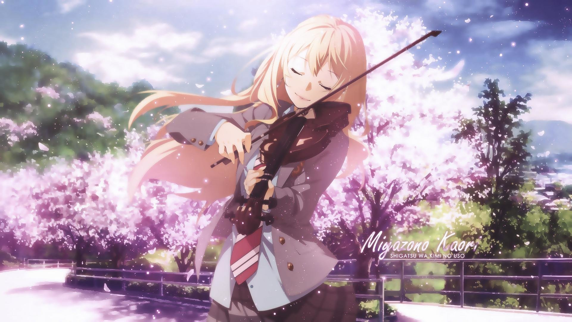 Your Lie In April Kaori Wallpaper Posted By Michelle Simpson