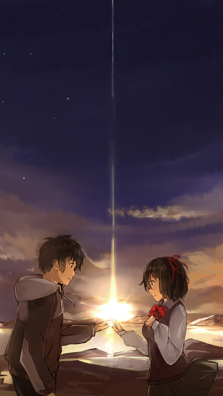 Your Name Wallpaper Iphone Posted By Ethan Peltier