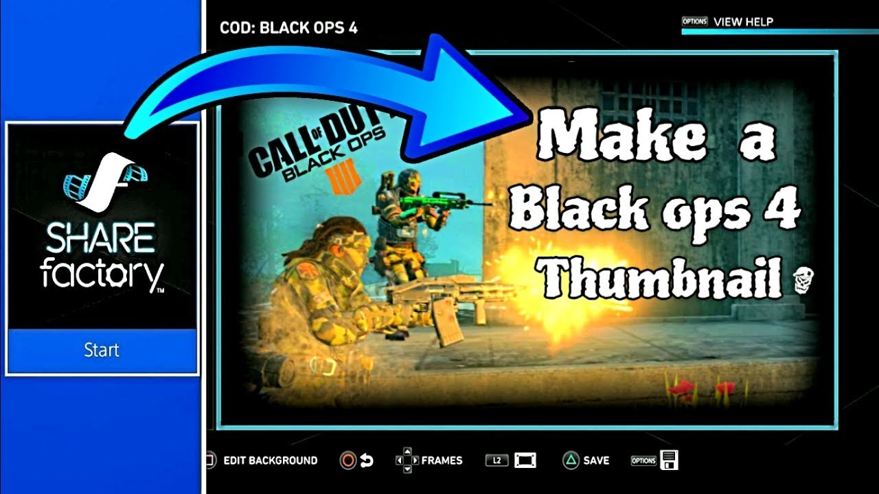 Youtube Thumbnail Background Call Of Duty Posted By Ethan Peltier