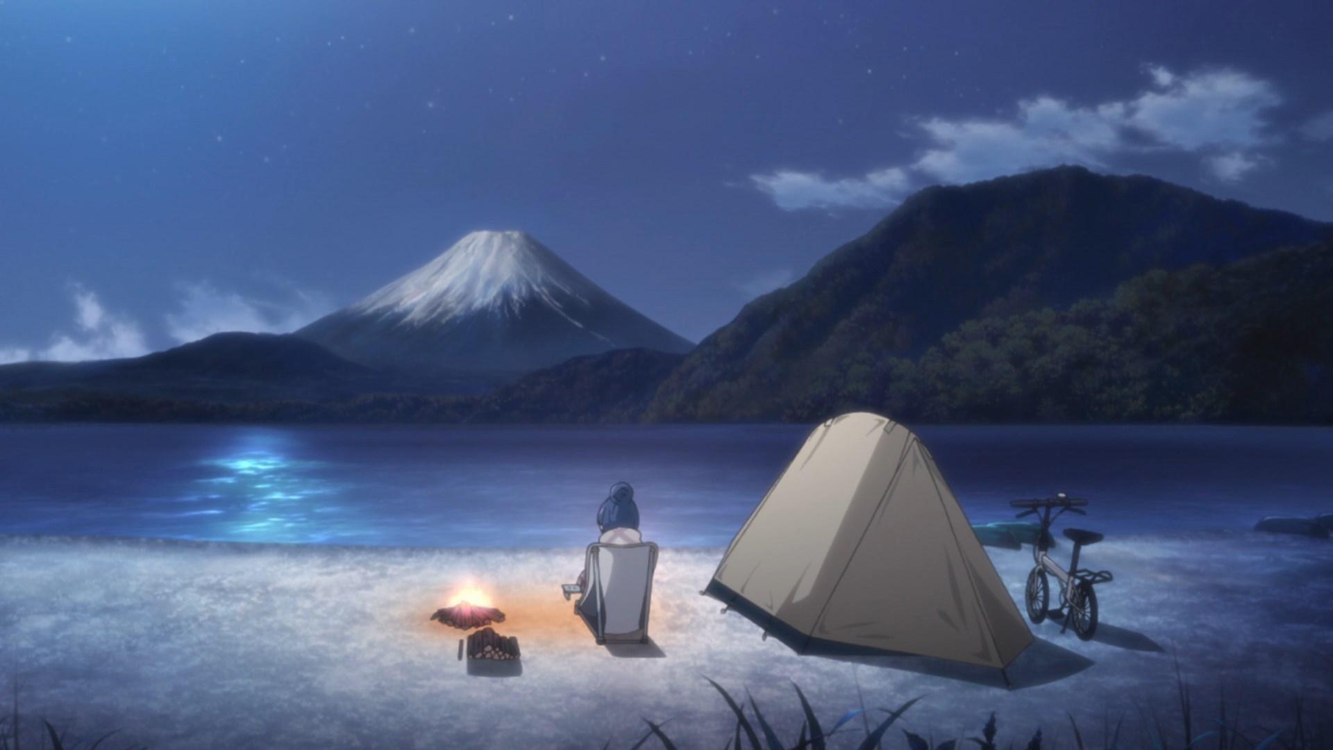 20+ Yuru Camp Wallpaper  Pics
