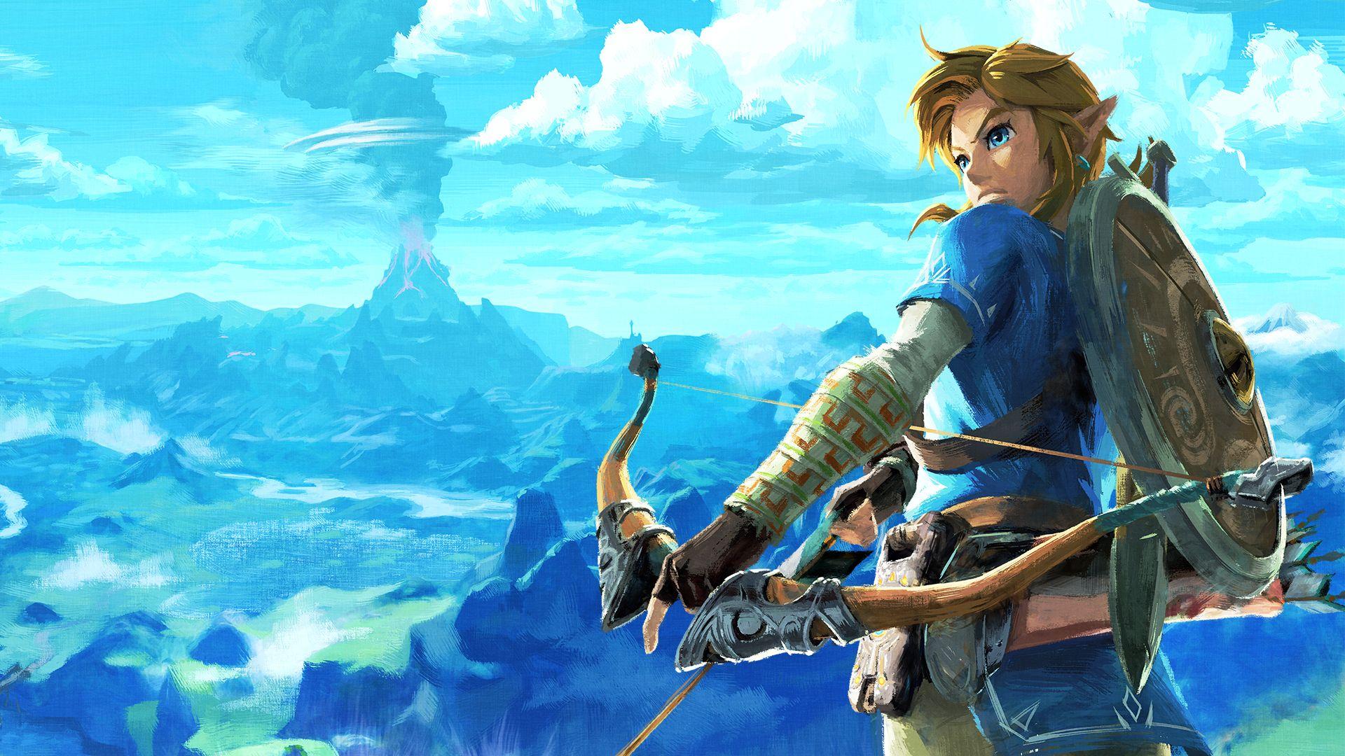 Zelda Botw Wallpaper 4k