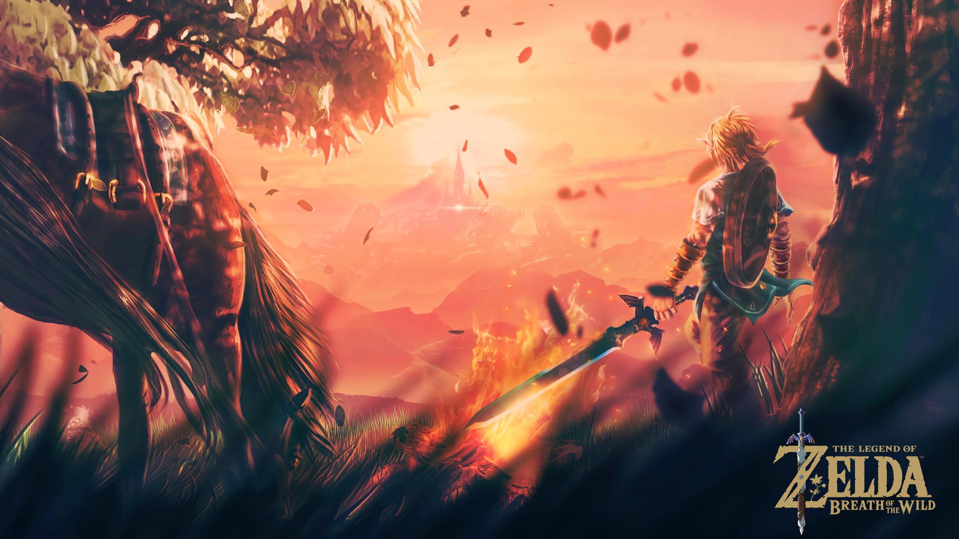 Zelda Breath Of The Wild 4k Wallpaper Posted By Sarah Walker
