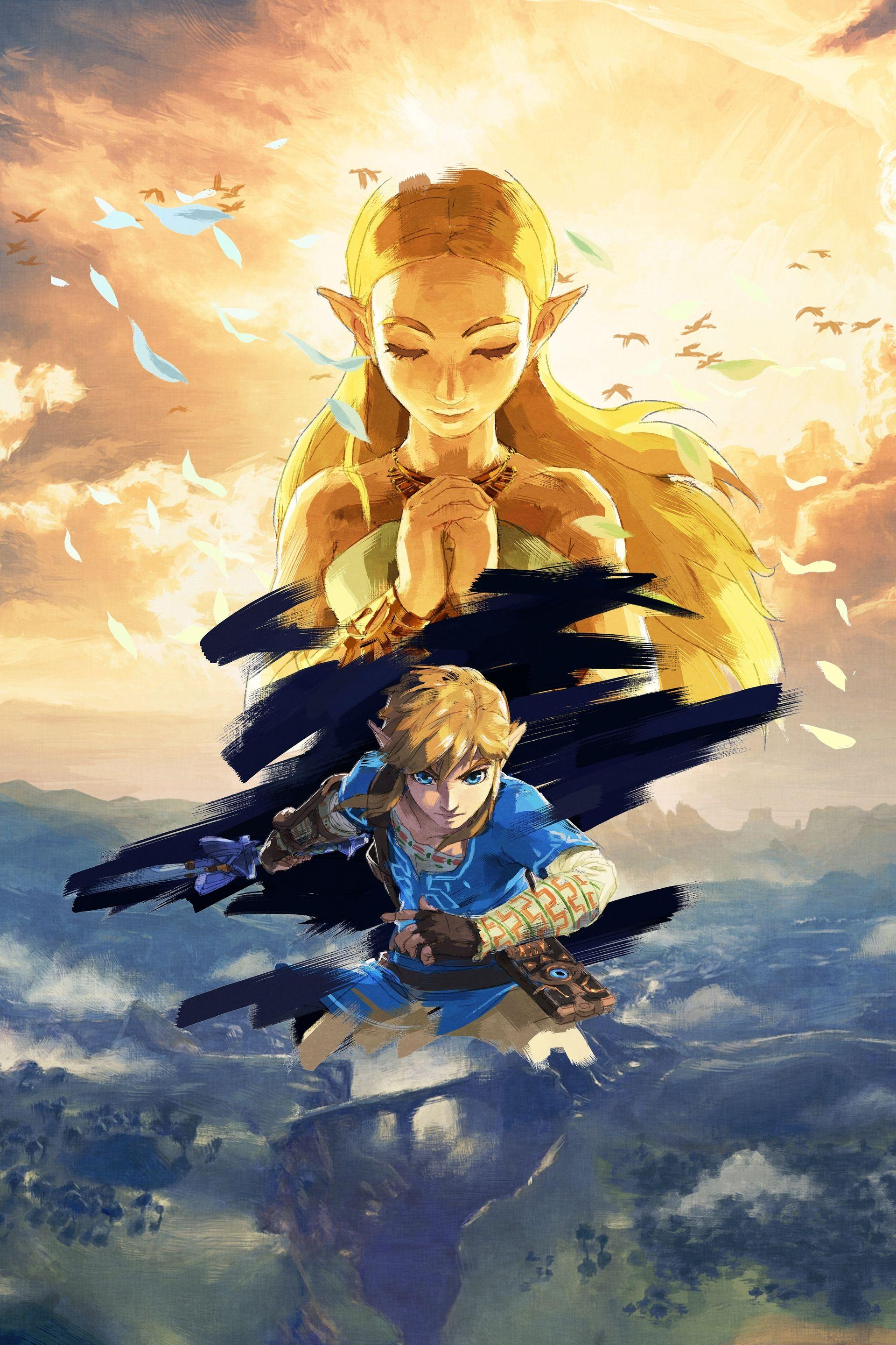 Zelda Breath Of The Wild 4k Wallpaper Posted By John Anderson