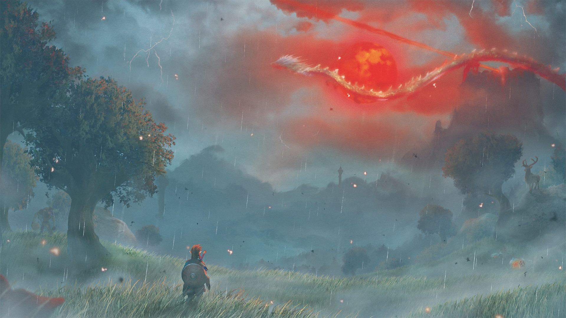 Zelda Breath Of The Wild Background
