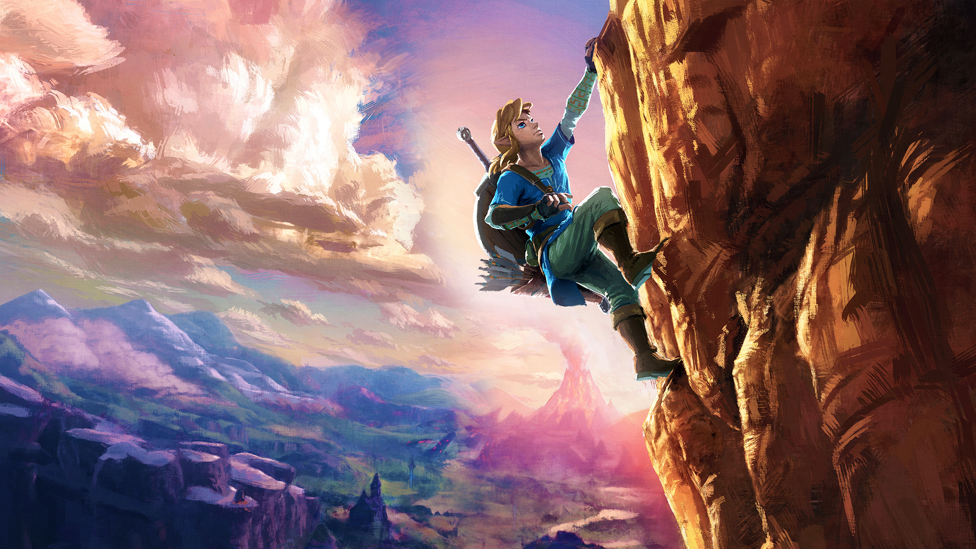 Zelda Breath Of The Wild Screensaver Posted By John Johnson
