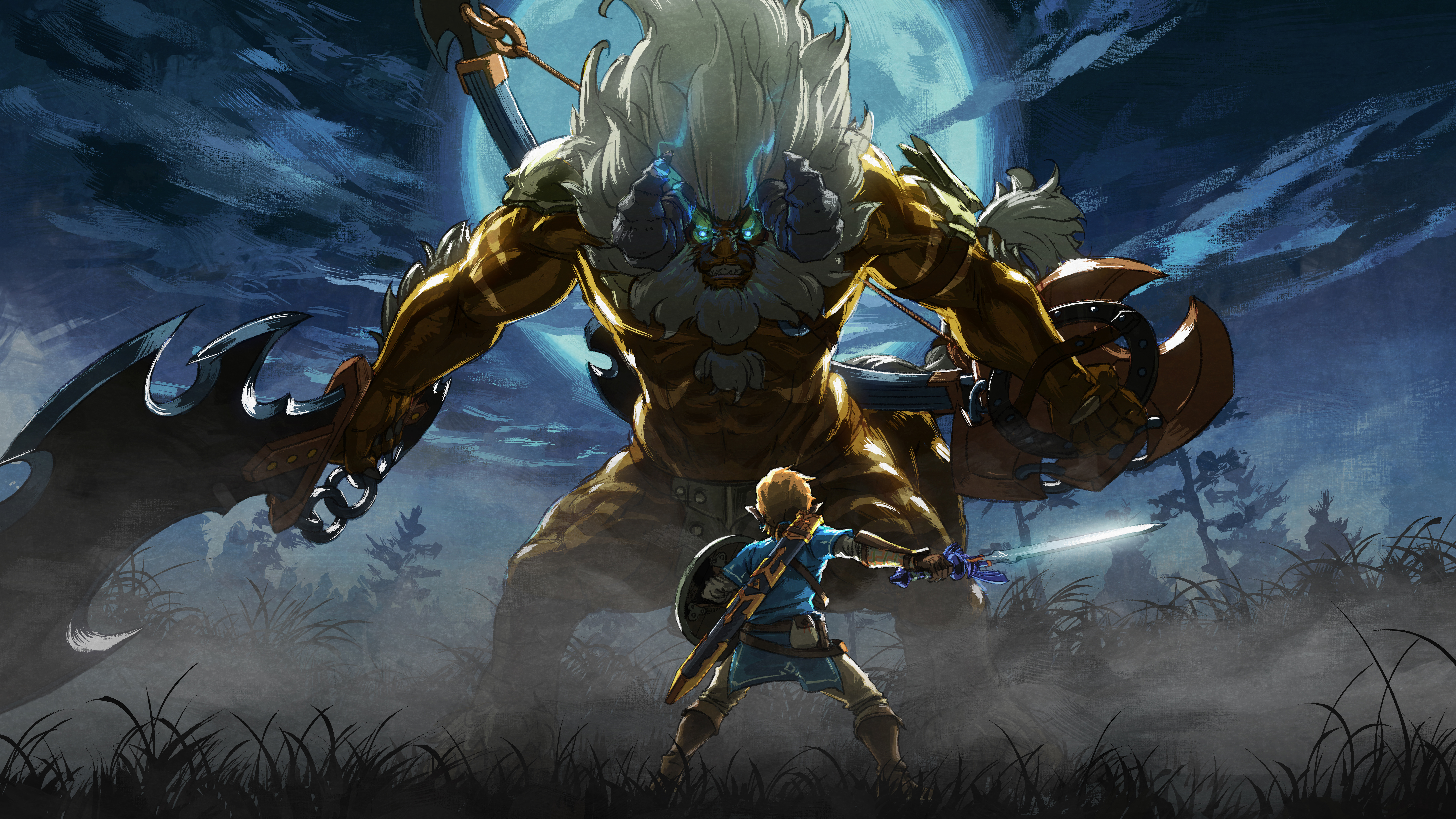 Zelda Breath Of The Wild Wallpaper 1920x1080 Posted By John Cunningham