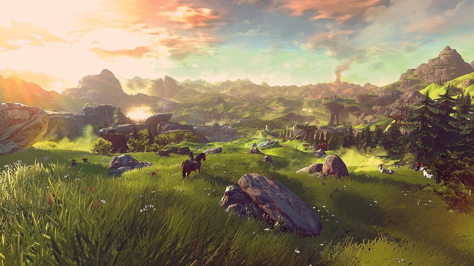 Zelda Breath Of The Wild Wallpaper Hd Posted By Ethan Walker