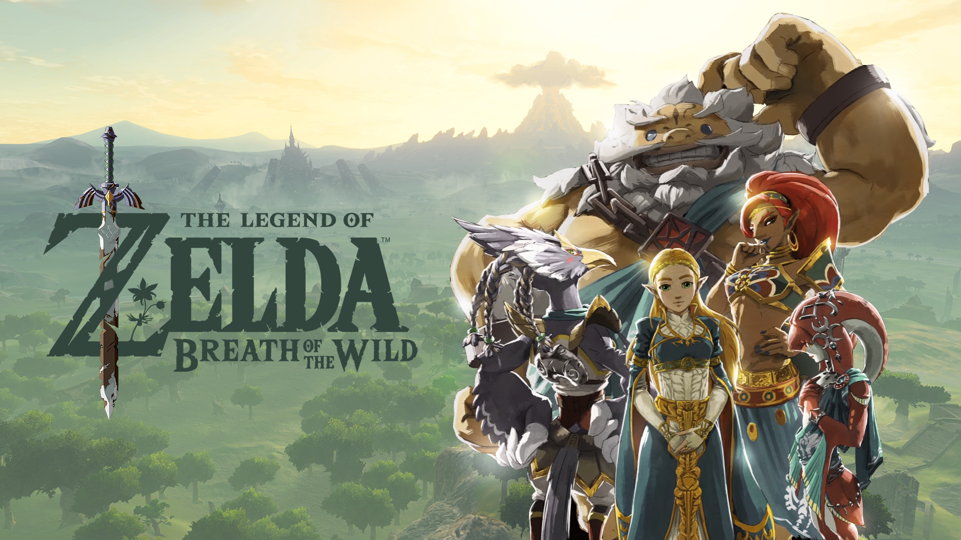 Zelda Breath Of The Wild Wallpaper Hd Posted By Ethan Johnson