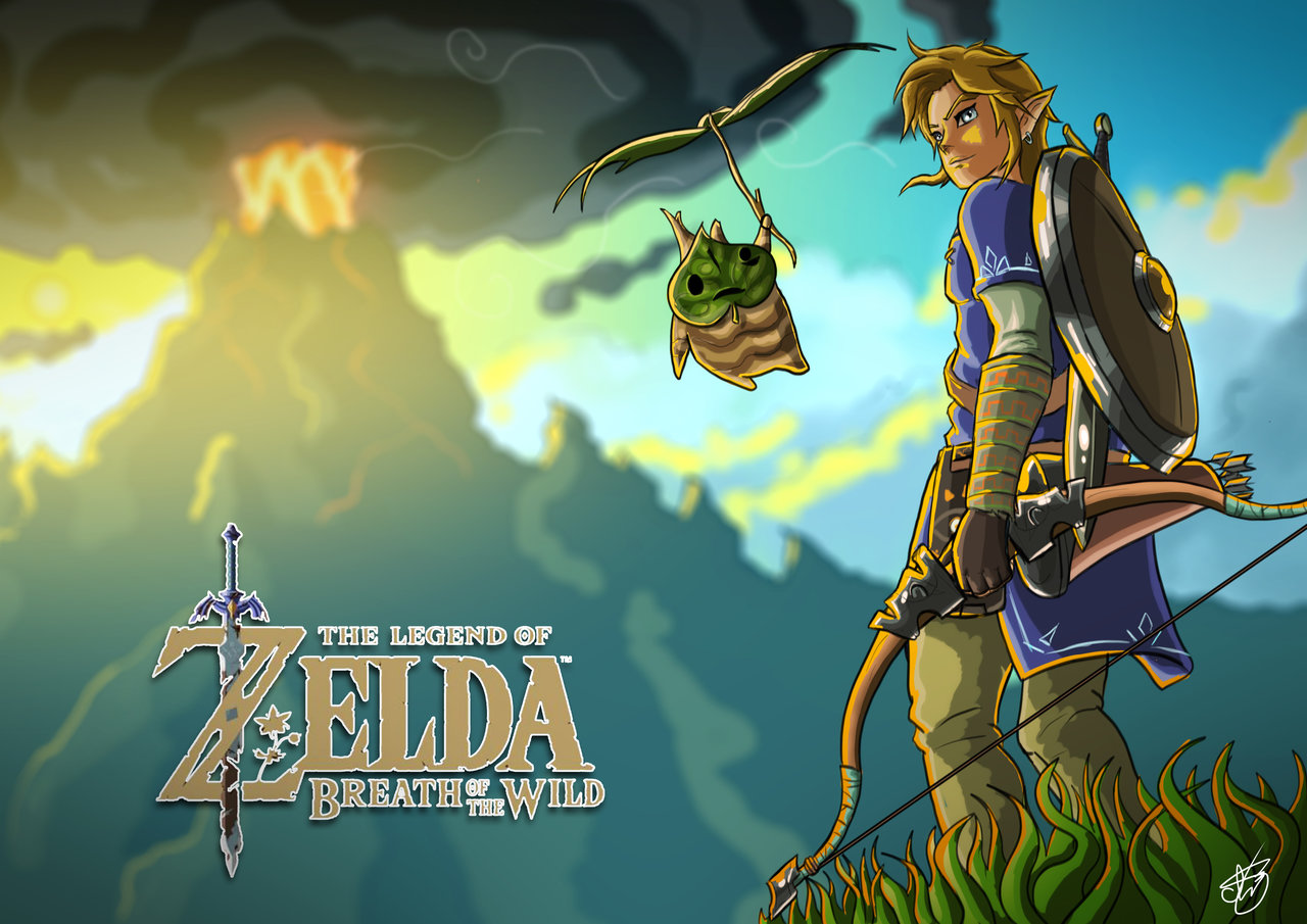 Zelda Breath Of The Wild Wallpaper