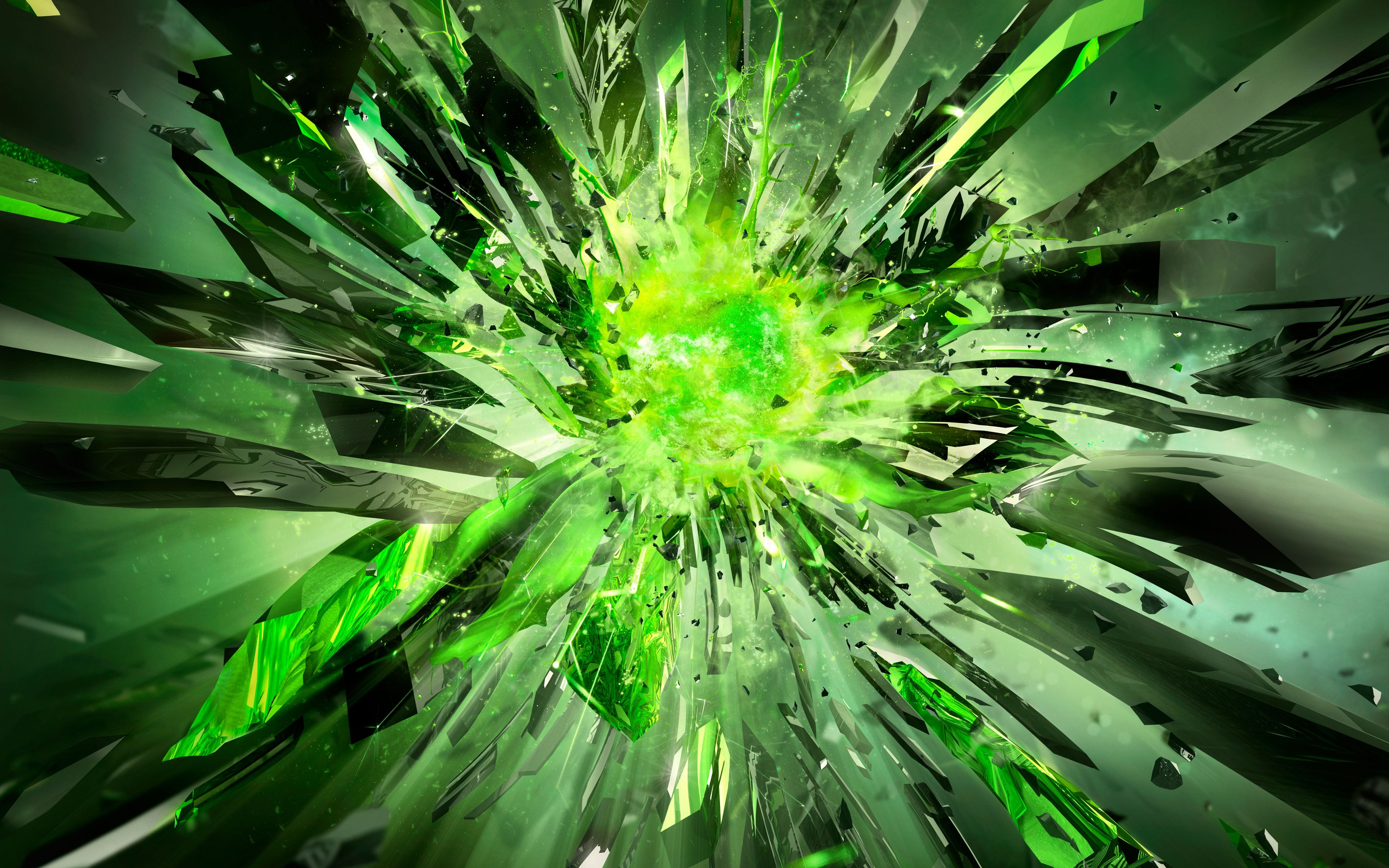 4k Bright Green Wallpapers posted by ...