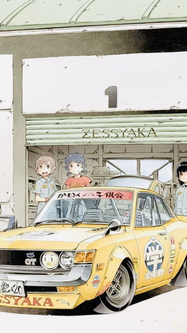 Aesthetic Anime Car Wallpapers Posted By John Walker