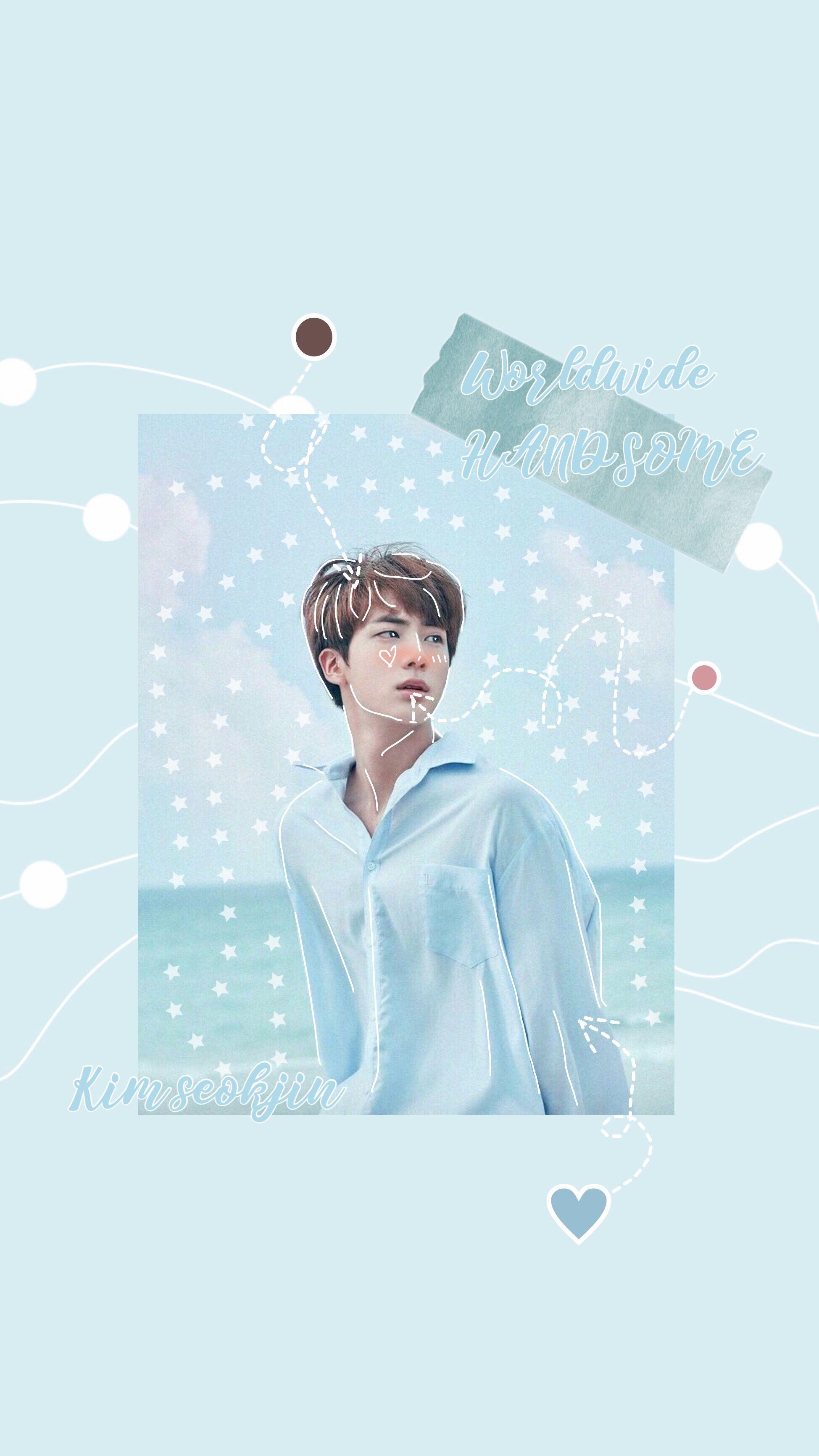 Kim Seokjin Aesthetic Wallpapers posted ...