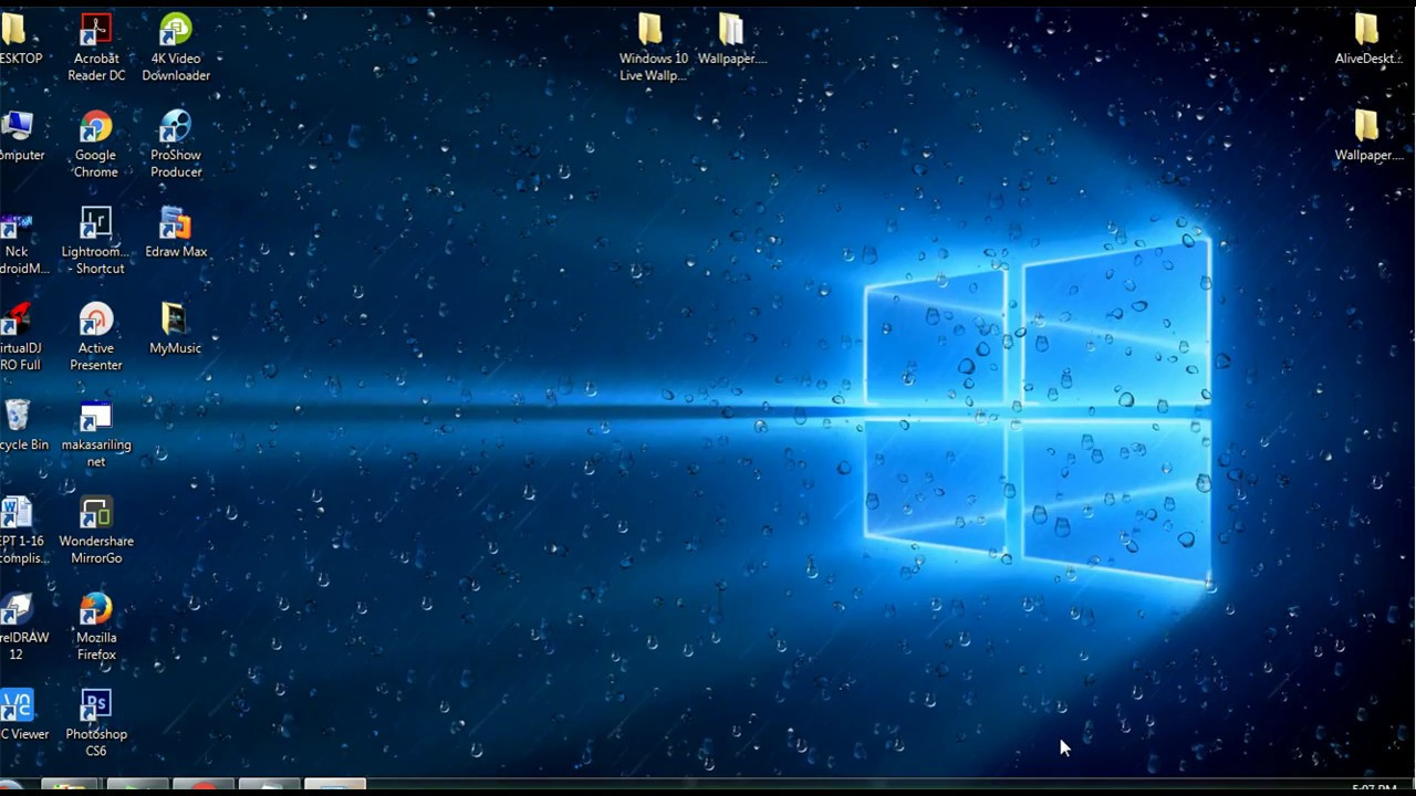 Animierte Wallpaper Windows 10 posted ...